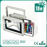 LED RGB 10w floodlight white,Silver,Black color