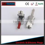 220-600V HEATFOUNDER CHINA MADE TOP LEVEL LONG WORKING LIFE INDUSTRIAL ELECTRIC CERAMIC PLUG