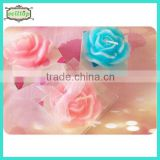 Hot sell lotus shape candle newest wedding party giveaways