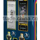 Chewing gum + Lighters Vending Machine, 2 channels UNIBLOCK 2, Distribuiteur automatique