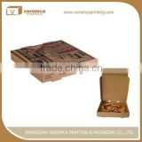 Multifunctional round cardboard gift boxes with lid for food