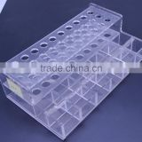 latest pmma e-cigar holder in foreign market OEM acrylic e-cigarettes displays holder wholesale low price
