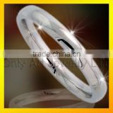 Popular gift comfort fit cheap gift eternity titanium wedding rings