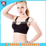 Black High Workmenship Classical Pad Hot sexy Sport Bra