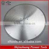 Tunsten carbide steel blade material saw for cutting aluminum extrusion