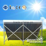 2014 hot sale heat pipe Solar collector made in china solar water heater(CE, ISO, Solar keymark,SRCC )