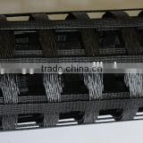 Warp knitting polyester uniaxial geo grid retaining wall systems for reinforcement