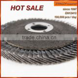 T27 4'' 100x16mm Fiber backing Zirconia flap disc for stainless steel