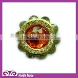 Alloy Metal Button With Rhinestone,Plating Finishing,Superior Quality With Competitive Price