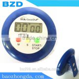 Multi-functional Round 99 Minutes Countdown /Up ABS Beauty Salon Counter Timer with Clip & Magnet