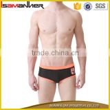 Sexy tight men swimwear custom brand men personalised swimming trunks                                                                                                         Supplier's Choice