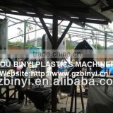 New style waste plastic recycling line / waste tire recycling processing line / pet waste bottles recycling line