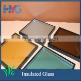 Energy saving and sound-proof high quality coated tempered insulated glass panels standard sizes