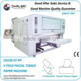 Soft Paper Facial Tissue Film Packing Box Making Company Machine