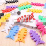 Beautiful silicone earset wire winder in portable size