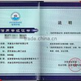 Credit Grade Certification