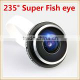 Hot sale!! Universal 235 degree super Fisheye lens for Samsung galaxy S3 i9330 iphone or mobilephone or digital camera