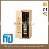 Wholesale single wooden wine box for wine bottle gift packaging                                                                         Quality Choice
