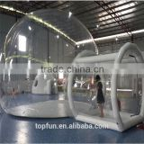 Clear PVC dome camping bubble inflatable tent                                                                         Quality Choice