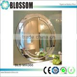 hotel art hanging frameless mirror carving craft decorative wall mirror                                                                                                         Supplier's Choice