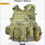Reinforced Plate Carrier with molle system/Adopting high strength 1000D waterproof nylon