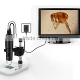 2015 HOT SALE ! high resolution 5M LCD 1080P 500x usb digital microscope for skin detection/insect/plant/metal/fabric/hair test