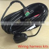 14VDC 40A LED Light Bar Wiring Harness Kit ON/OFF Switch Relay