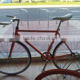 Hot selling colorful fixie bike fixed gear bike bullhorn handlebar bicycle factory in China