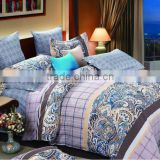 The best fashion bedding designs for100%cotton high quality of print luxury bed sheet/fitted sheet/soft comforter duvet cover