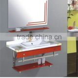 good quality high end marble pedestal bathroom sink