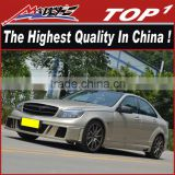 Body kit for Mercedes 2006-2010 C63 BS body kit the highest quality PU/Carbon Fiber Body Kits for Mercedes W204