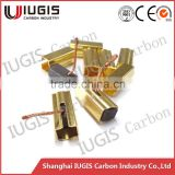 carbon brush for electric wire-feed motor use wire feeder carbon brush with hoder
