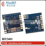 NiceRF 2.4G remote wireless transceiver module RF2401 ism band 2.4G wireless transmitter receiver mdoule 2.4g rf module