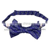 Bow Tie in Blue Color with logo