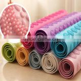 Plastic Material and Brush Type foot massage bath mat