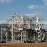 Mazy Steel Structure/Frame Work for Modern House/Villa from Chinese Expert Manufacturer