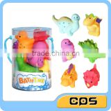Attractive little dinosaur baby toys for bathing