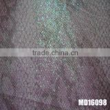 glitter leather fabric pu leather for shoes bags upholstery used