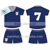 Kids soccer jersey OEM blank kids team customized cheap soccer jersey set