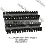 HCC009 Plastic Tube Clamps for M3 Round Tube/Pipe