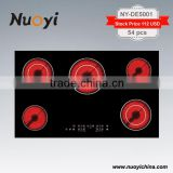 PROMOTION !PROMOTION !PROMOTION !Built-in Electric Ceramic Hob/ 5 Burners Electric Cooktop/ceramic cooker reviews