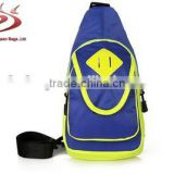 Promotion price single strap backpack, cell phone one shoulder triangle bag