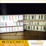 A4 Size Retro Cinema Battery Operated LED Light Box Cinematic Lightbox Light With 85 Letters