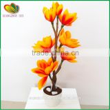 Indoor decoration artificial flower bonsai plastic artificial orchid flower artificial flower