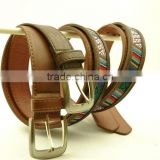 Woman fashion canvas belt