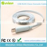 For Cisco Console Cable USB RJ45 6ft FTDI Chip Win 7 Win 8 MAC Linux RS232
