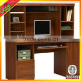 MDF children study table with bookcase children writing desk