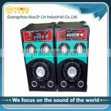 Super Bass 2.0 Channels Speaker Bluetooth Home Audio Amplifier mp3 player with built in speaker