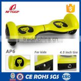 2015 Newest Mini 4.5inch Electric Self Balance Scooter Intelligent Skateboard 2 Wheels Hoverboard For Kids