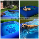 customized style pvc summer swimming pool inflatable dog pool                                                                         Quality Choice